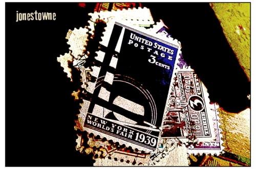 New York World Fair Stamp (c.1939) via josh jones