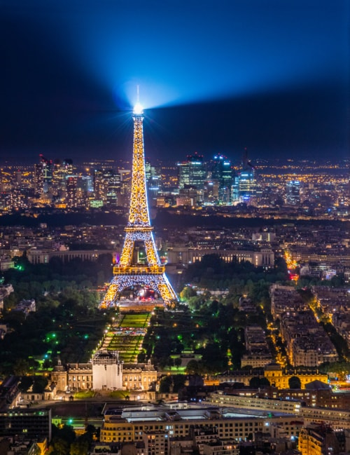 The city of light via Rob Lyons