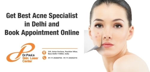 Get Best Acne Specialist in Delhi and Book Appointment Onlin... via Skin Laser Centre