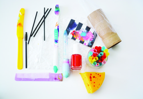 Common Tools and Found Objects for Your Mixed Media Art