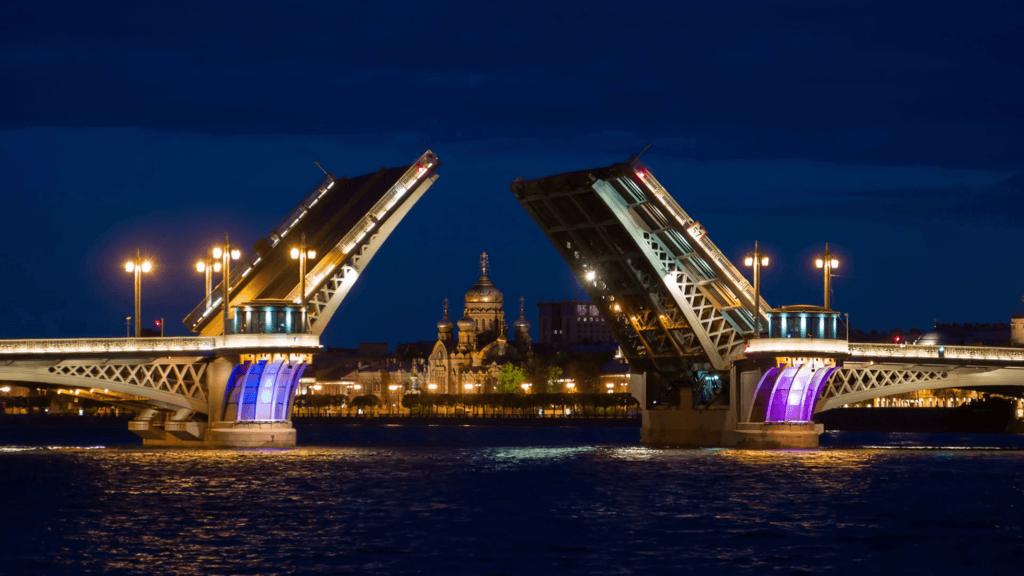The Palace Bridge Saint Petersburg - One of the most famous ... via Dook International