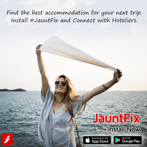 Find the best 🛌 accommodation for your next trip. Install #... via JauntFix