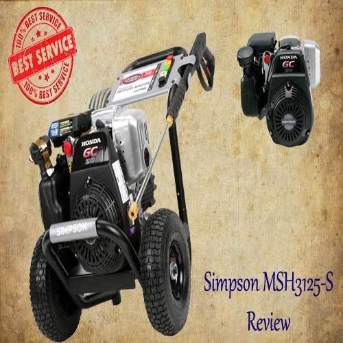 Simpson MSH3125-S Review | Powerful Honda GCV190 Engine.