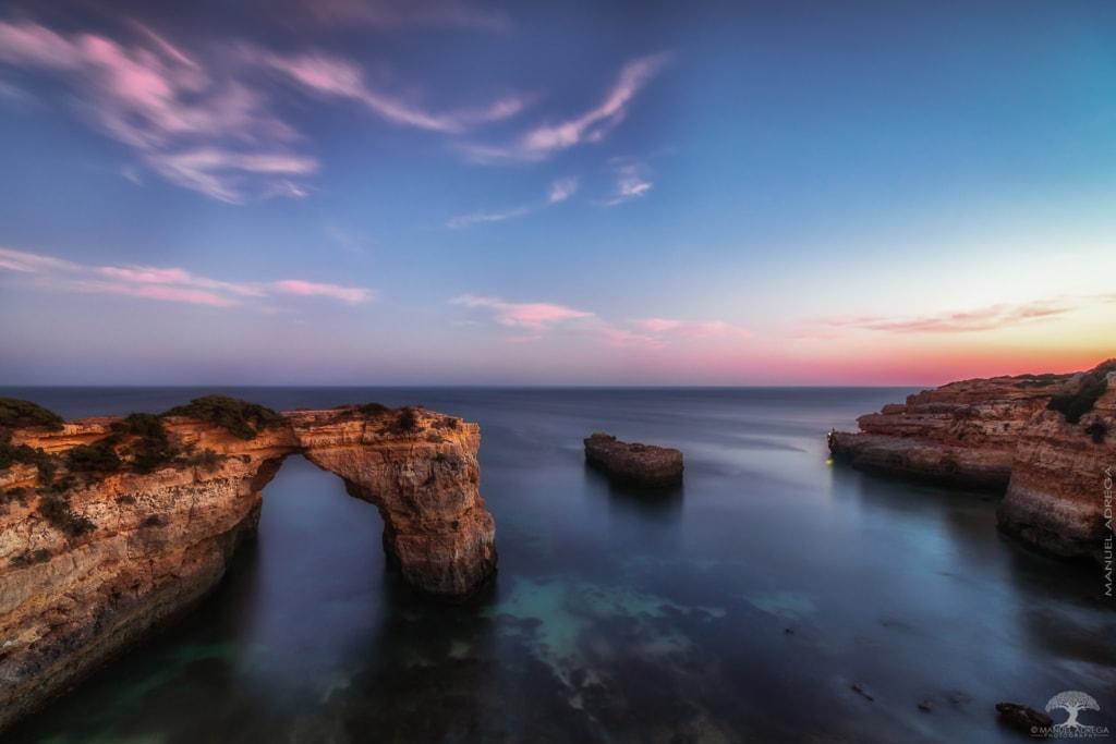 Albandeira Beach Sunset via Manuel Adrega