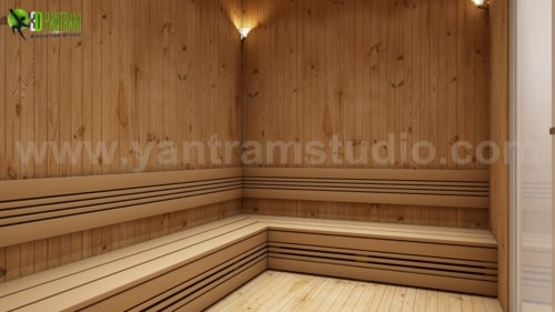 Benefits of Steam Bath Room In House Design Ideas by Yantram... via Yantram Studio