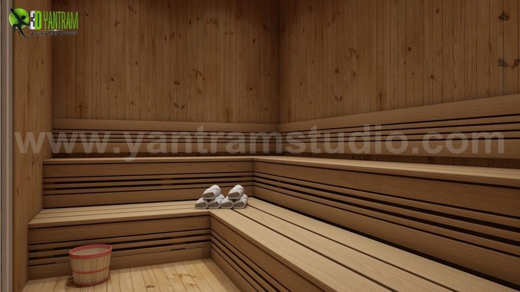 Benefits of Steam Bath Room In House Design Ideas by Yantram... via Yantram Studio