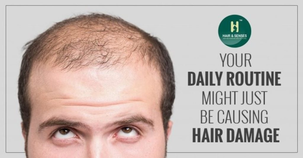 Your daily routine might just be causing hair damage via sandeep kaur