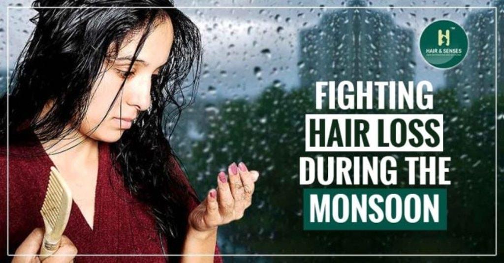 Fighting hair loss during the monsoon via sandeep kaur
