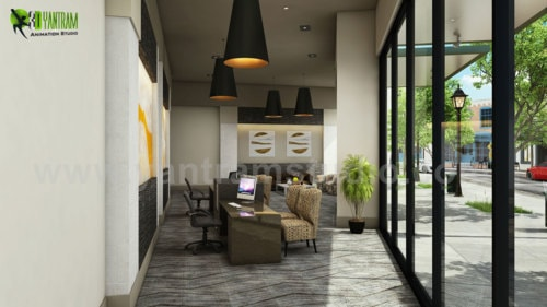 Latest Apartment with 3D Interior Modeling Ideas by Yantram ... via Yantram Studio