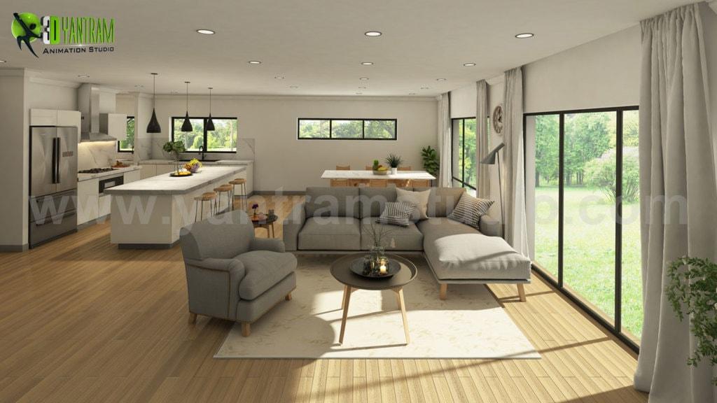 Vintage 3D Exterior & Interior Modeling Ideas by Yantram Arc... via Yantram Studio