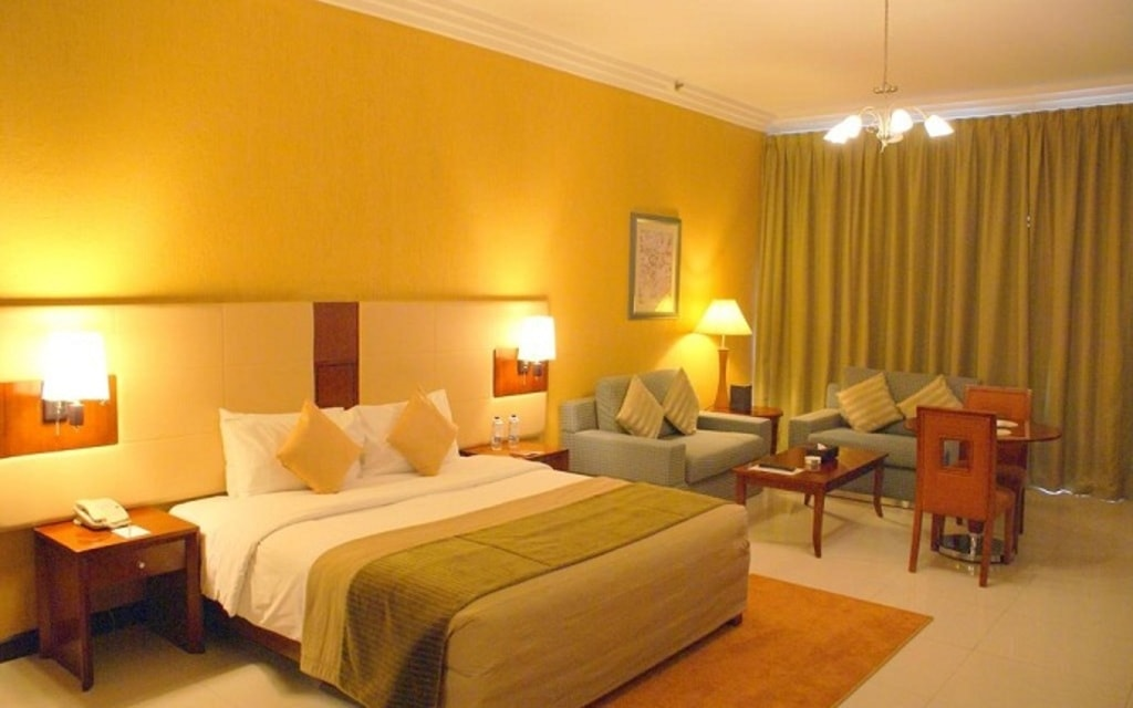 Enjoy the Fully Furnished Rooms at Star Metro Deira Hotel in... via Star Metro Deira Hotel