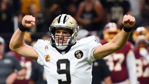 Brees passes Manning as all-time passing leader