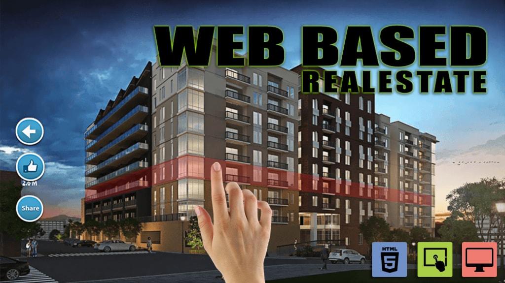 Web Based Real Estate Sales Tools by Yantram Real Estate VR ... via Yantram Studio