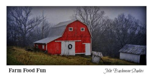 Up On The Hill by Jolie Buchanan #farm #barn #rural via Jolie Buchanan