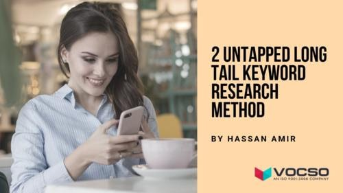 2 Untapped Long Tail Keyword Research Method