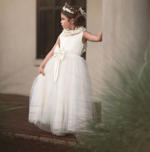 Alessandra Dress-Chocolate, Helena Gown-Pink,... - Trish Scully Child