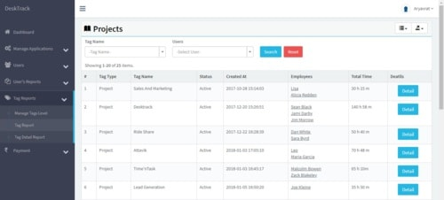 Project Management Software via TimenTask