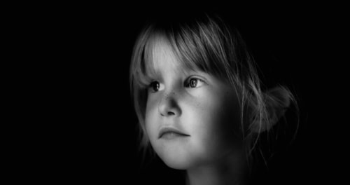 Ella                                                                          #portrait #face #girl #blackandwhite #B&W #shadow #lig... via LimebluPhotography