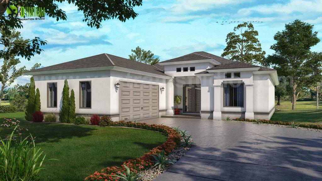 Unique 3D Architectural Home Visualization Company by Yantra... via Yantram Studio