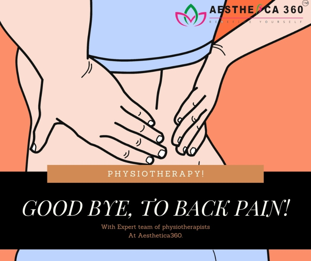 No more back pain! Let signature #physiotherapy treatment he... via Mayank Verma