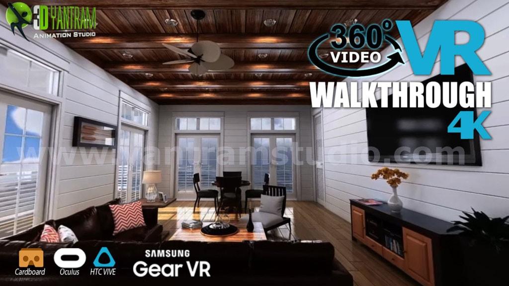 Interactive 360° VR Walkthrough Video Developed by Yantram V... via Yantram Studio