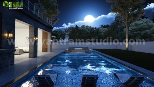 Incredible 3D Exterior & Interior Walkthrough Home Rendering... via Yantram Studio