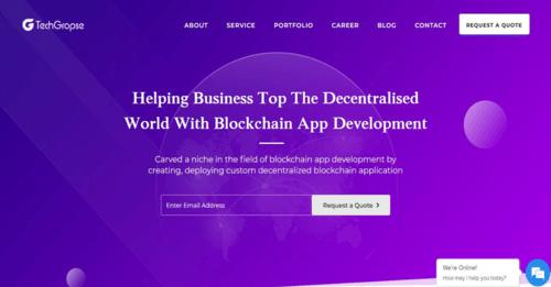 Blockchain Application Development Company | Blockchain Technology