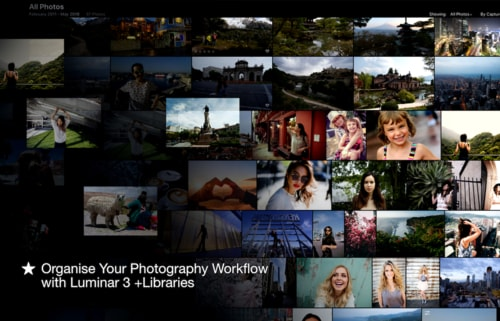 Organise Your Photography Workflow with Luminar 3 +Libraries