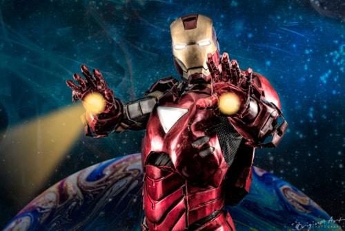 Iron Man! Had a studio shoot this morning with Gavin who has... via Joe Lenton