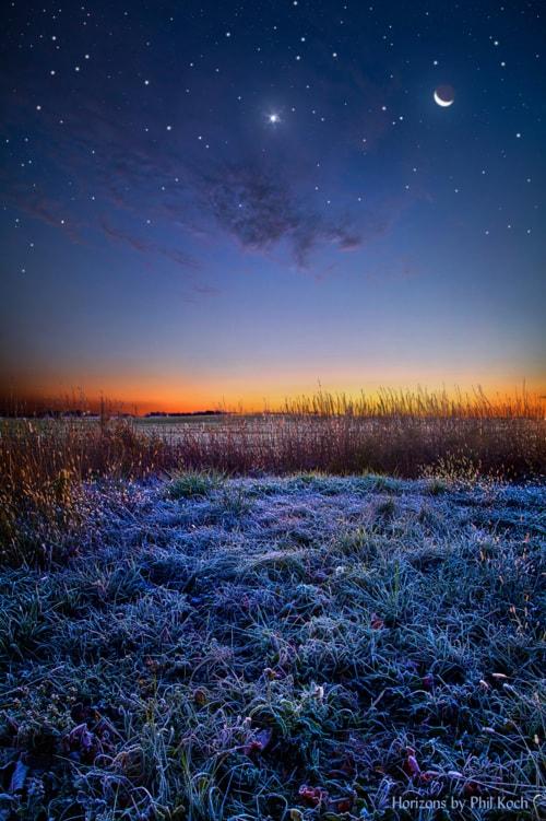 """""""Softly Spoken Prayers""""                                     Wisconsin Horizons by Phil Koch, tur... via Phil Koch"""