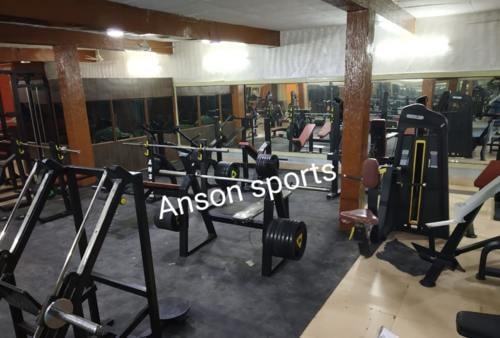 Buy gym equipment's, exercise bikes, weight bench, treadmill... via Anson Sports