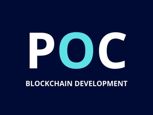 POC (Proof Of Concept) Blockchain Application Development