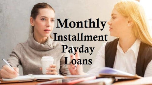 Monthly Installment Payday Loans Appropriate For Funds Neces... via James Vizard