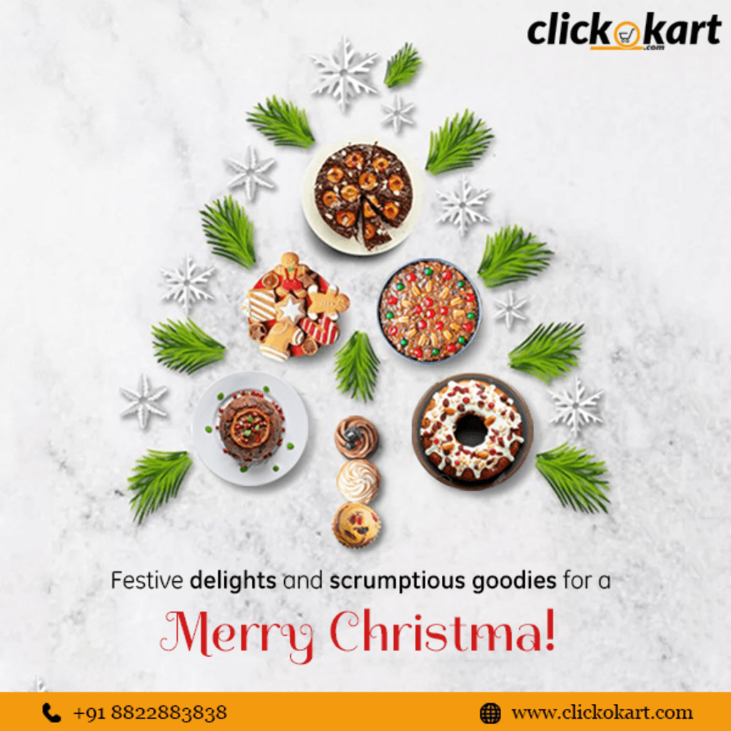 Complete the celebrations of Christmas evening with the dele... via Clickokart
