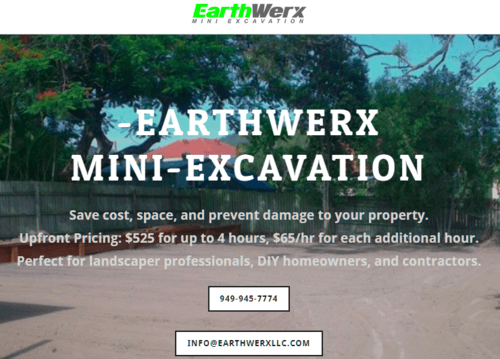 Earth Moving Services Costa Mesa California | Landscape Prep... via Earth Werx llc
