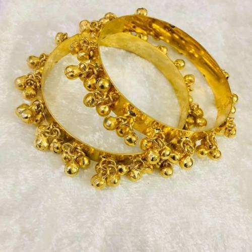 Gold Plated Bangles Online Shopping via Divya Chugh