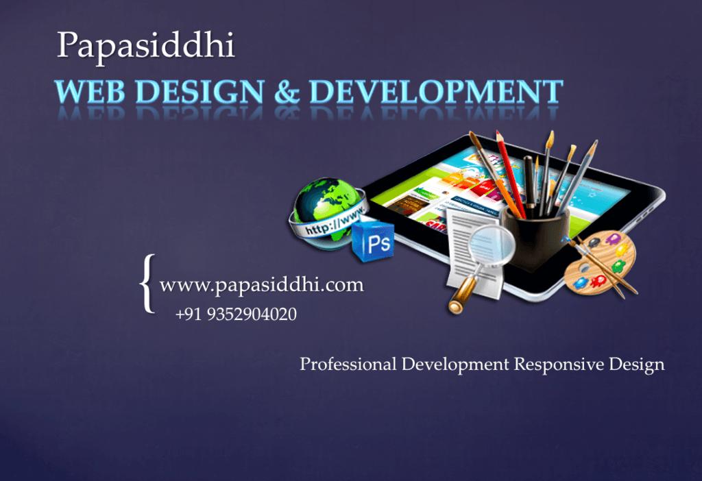 Papasiddhi is the Best Website Design Company Udaipur India.... via papasiddhi