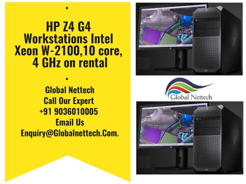 HP Z4 G4 Workstations Intel Xeon W-2100,10 core, 4 GHz on re... via Global Nettech