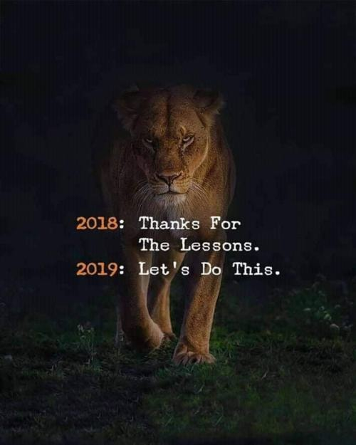 Happy New Year everyone via Michael Q Todd