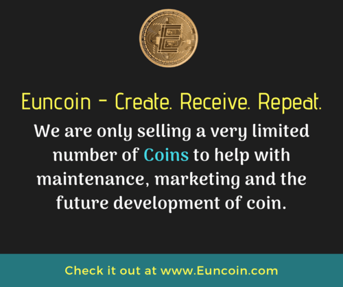Euncoin Be part of the next evolution in cryptocurrency Help... via Euncoin Wallet