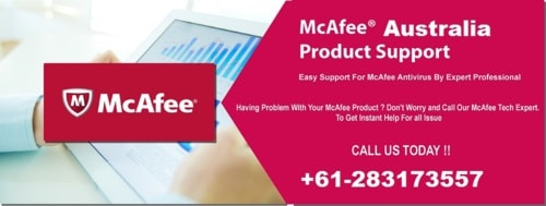 If you have any problems with your Mcafee antivirus. dial Mc... via Stella Nency