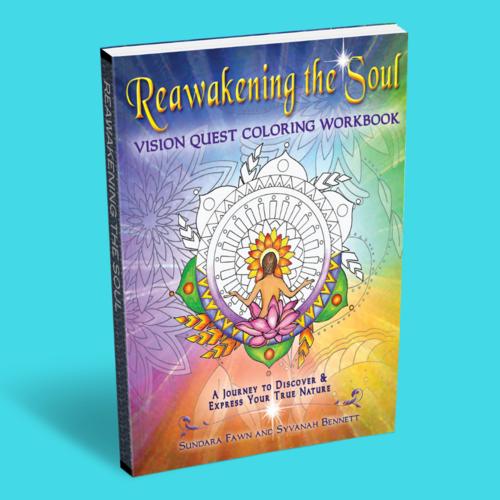Vision Quest Coloring Workbook - Sundara Fawn via Sundara Fawn
