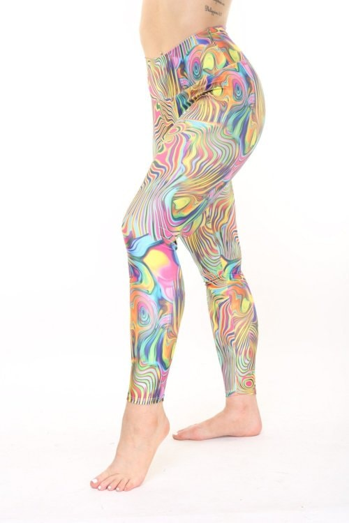 Psychedelic Pilates Long $75.00 via KDW Apparel