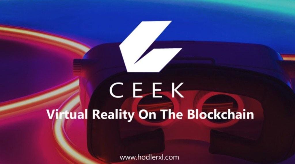 CEEK – Virtual Reality On The Blockchain via claire batomalaque