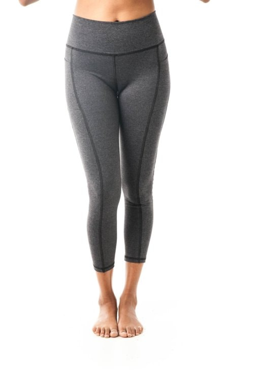 Breathe Leggings Grey $98.00 via KDW Apparel
