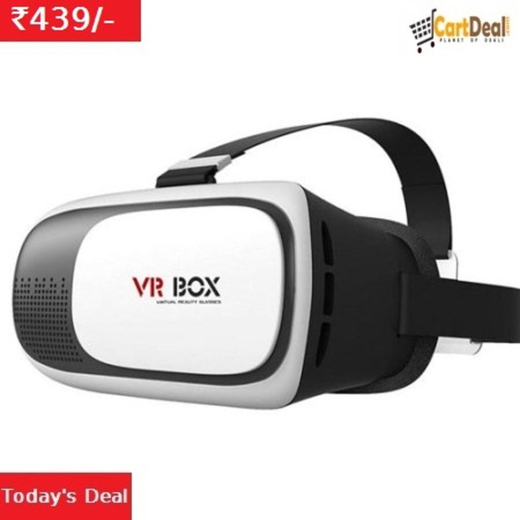 VR Box 2.0 Virtual Reality 3D Glasses This 3D VR Box 2. 0 he... via Cartdeal