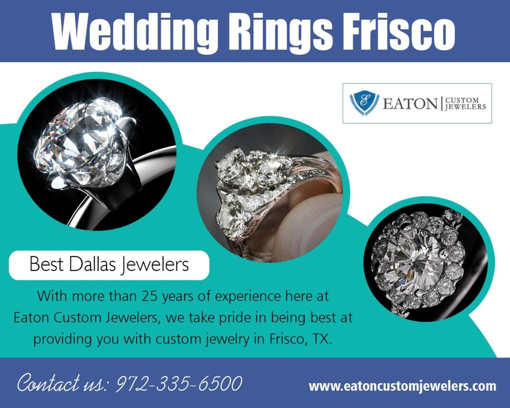 Wedding Rings Frisco via Jewelers Custom