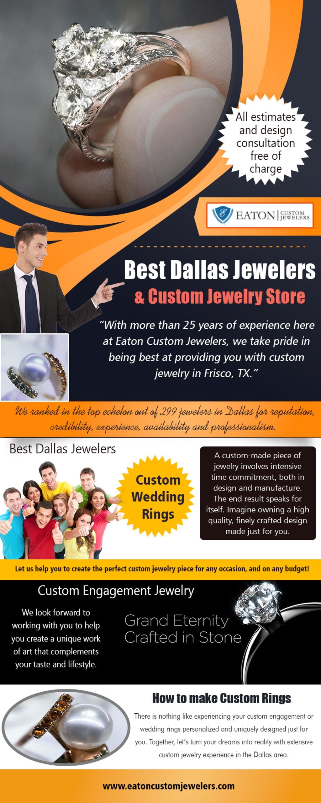 Best Dallas Jewelers & Custom Jewelry Store via Jewelers Custom