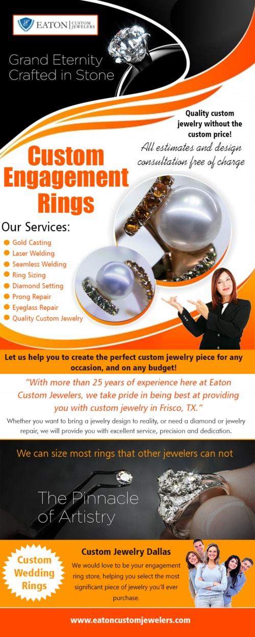 Custom Engagement Rings via Jewelers Custom