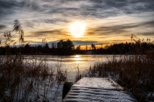 Relaxing at the lake                                                                          #photograph #landscape via Lars-Ove Törnebohm